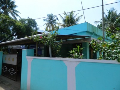 8 Cents of land with Two Houses for sale at Vallikezhu,Kollam District.