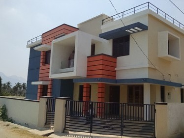 4.10 Cents of land with 1550 Sqft 3 BHK new house for sale at Kallepilly,Palakkad.