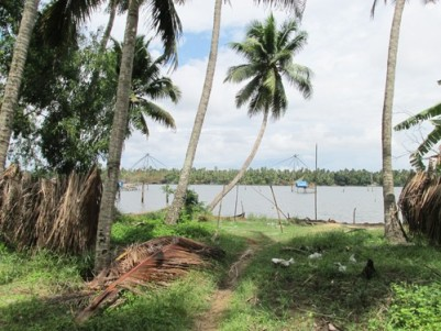 83 Cent Water Frontage Land for sale at Kottappuram,Paravur,Ernakulam.
