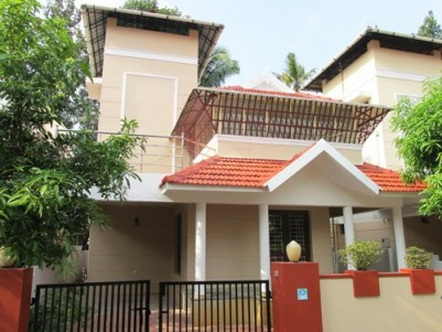 2250 Sq.ft Posh Double Storied House for sale at Eroor,Ernakulam.
