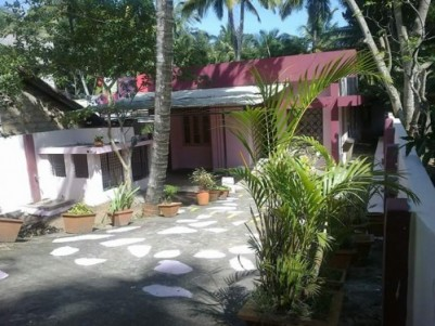 House and plot for sale in trivandrum