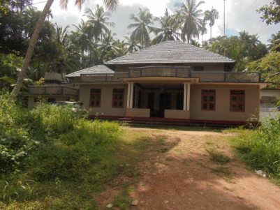 24 Cents of land with 3000 Sqft 5 BHK Old house for sale/exange  at Chala,Kannur.