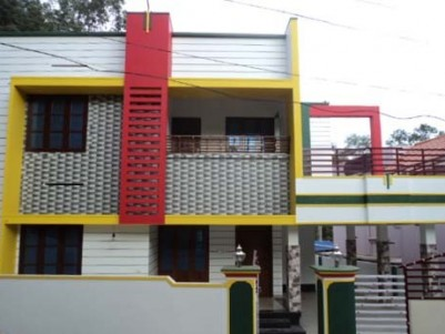 2500 Sq.ft 4 BHK House on 8 Cents of land for sale at Chullimanoor,Nedumangad,Trivandrum.
