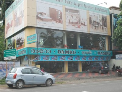 5000 sqft Commercial Building available for Lease in between Ulloor and Pongumoodu,Trivandrum.