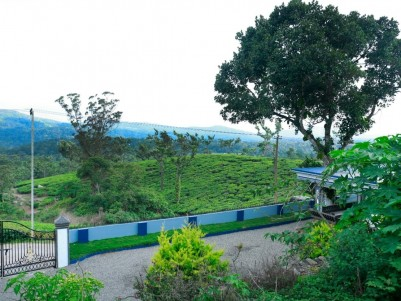 13 Cents of Land with 1000 sq.ft Posh Brand New villa in an Excellent Scenic Location at Poopara.