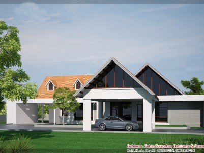 2904SQ.FT Newley Constructed 4BHK  house at Puthencruz Ernakulam