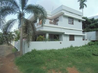 1700 Sq Ft 3 BHK Semi Furnished House for sale Near Aluva Town, Ernakulam
