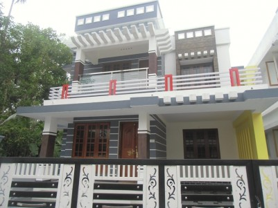 1850 Sq Ft 4 BHK Semi Furnished House for sale Near Aluva Town, Ernakulam