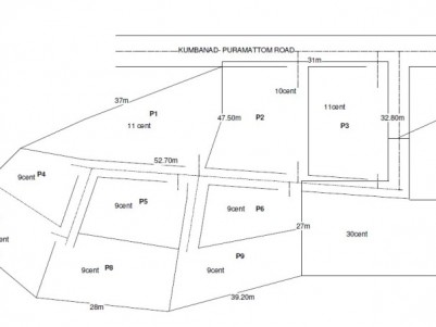 Residential Land For Sale at Puramattom, Pathanamthitta
