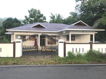 Residential land with Beautiful House for sale at Erumely, Kottayam