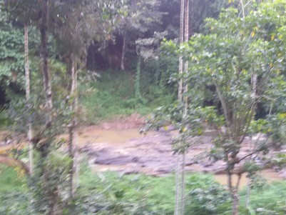 2.80 Acres of Riverside land for sale at Mananthavady, Wayanad