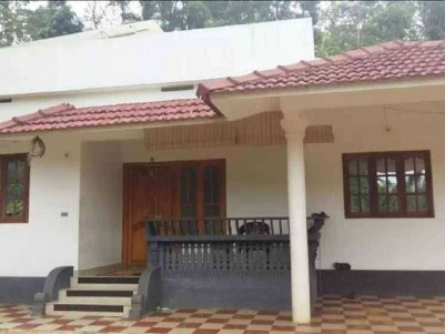 30 Cents of land with 1600 Sq Ft 3 BHK House for sale at Mananthavady, Wayanad
