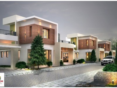 1800 Sqft Gated Colony Villa For Sale at Chandranagar, Palakkad