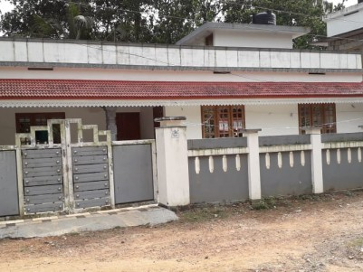 1500 SqFt 3 BHK House with 6.5 cents  of land at Aluva Town