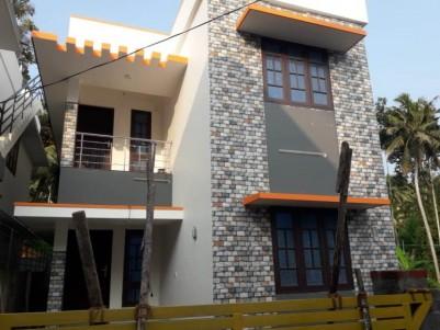 1500 SQFT New Double Storied House for Sale at  Kazhakoottam, Trivandrum