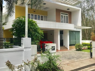 2400 Sq Ft 4 BHK Posh Villa with 10 Cents of Land Sale at Kolenchery.