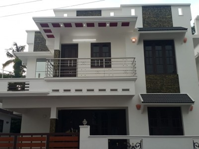 1600 Sq Ft 3 BHK House  with 3 Cents of  Land for Sale at Varapuzha, Ernakulam.