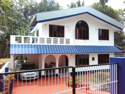 1500 Sqft Double Storied House for Sale at Changanasserry, Kottayam