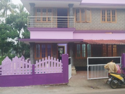 1400 Sq Ft 4 BHK Double Storied House  on 3.5 Cents of Land for Sale  at Aluva