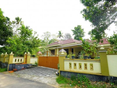 House with 42 Cents Land for Sale at Near  MC Road, Muvattupuzha.