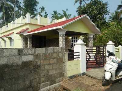 2 BHK House on 5 Cents of Land for Sale at Thrissur.