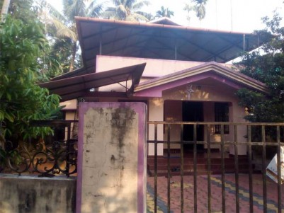 1200 Sq.ft 3 BHK House on 9.5 Cents of Land for Sale at Thiruvamkulam, Ernakulam.