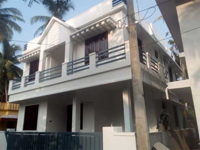 1500 Sq.ft 3 BHK House on 3 Cents of Land for Sale at Tripunithura, Ernakulam.