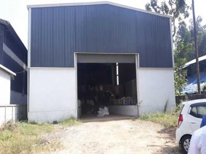 New Godown for Rent at Perumbavoor, Ernakulam.