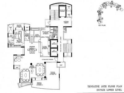 4 BHK Residential Duplex Apartment for Sale at Vyttila, Ernakulam.