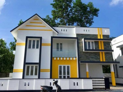 1650 SqFt 3 BHK House on 3.85 Cent of Land at Kakkanad