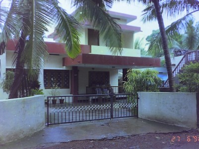 Residential Land with House for Sale at Talap, Kannur.