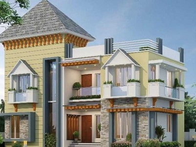 2100  SqFt 3 BHK on 5 Cent of Land for Sale at  Marad, Ernakulam.