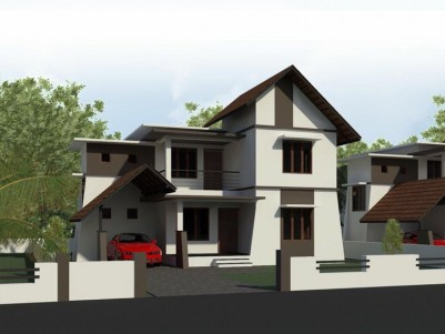 1100 SqFt, 2 BHK Villa for Sale at Nilambur, Malappuram