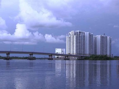 Sea Facing, Luxury Apartment for Sale at Marine Drive, Kochi.