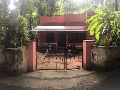 17 Cent of Land with 850 SqFt House for Sale at Shoranur, Palakkad