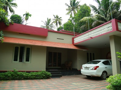 2 BHK Independent House with 16 Cents of Land for Sale at Devikulangara- Choloor Road, Kayamkulam.