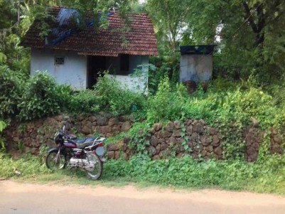 12 Cent Residential Land with House for sale at Koratty, Nalukettu