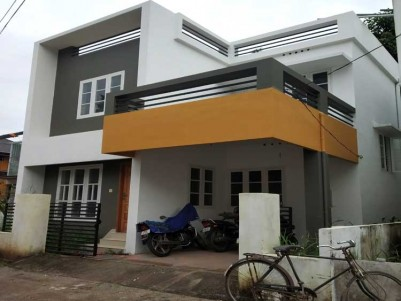 3 BHK, 1545 SqFt House on 3 Cent for Sale at Kazhakuttam Manvila, Trivandrum