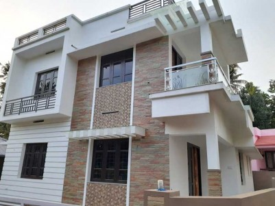 4 BHK, 1500 SqFt New House on 4 cents for Sale at Chotanikara