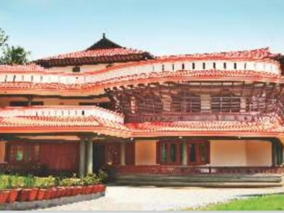 """Ayurgruham ""- Multi Specialty Ayurveda Hospital and Research Center for Sale at Kothamangalam."