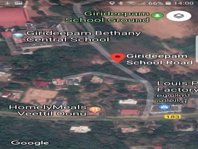 Residential Land for Sale at Kottayam.