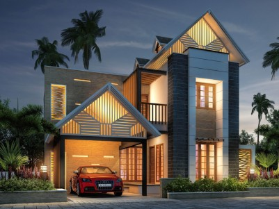OMG VENEZIA - Affordable Premium Villas for sale at Ottappalam Town.