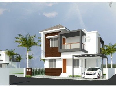 OMG MAGNUS - Premium 3BHK Gated Villa's Opp. P K DAS Medical College, Vaniyamkulam.