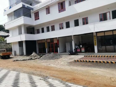 Commercial Building cum Apartment for Sale at Paika, Kottayam.