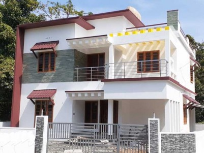 3 BHK, 1450 SqFt New villa on 4 Cent for sale at Puthencuruz bus stop, Ernakulam