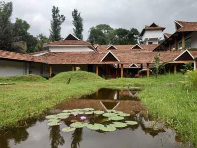 Fully Functioning Premium Resort for Sale at Thekkady, Idukki.