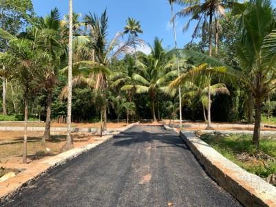 Residential Plots for Sale at Kulasekara Mangalam , Vaikom - Kottayam Highway  @ 2.6 Lakhs