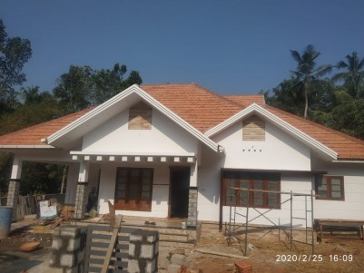 3 BHK, 1650 SqFt House in 10 Cents for sale at Kummannoor - Pala