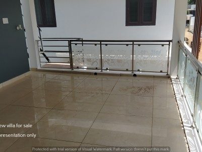 3 BHK Luxury river view villa for sale in palakkad town
