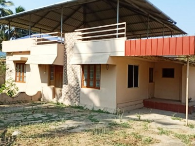 41 Cent Residential Land with 1350 SqFt House for sale at Elapully, Palakkad